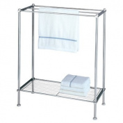 Free Standing Towel Rack for Bathroom-Chrome