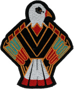 Native Phoenix Eagle Symbol 10cm Embroidered Patch NOVPA8910