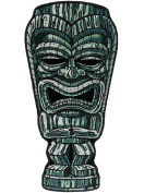 Tiki Statue Man Face 14cm Embroidered Patch NOVPA7324