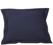Navy Poplin Pillow Sham