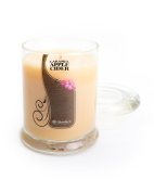 Caramel Apple Cider Jar Candle - Candle - Highly Scented - 190ml Beige Jar Candle - Bakery Candles Collection