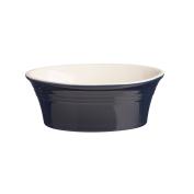 Mason Cash Stoneware Oval Pie Dish 18cm , 17-Fluid Ounces, Classic Blue