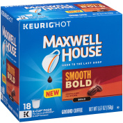 Maxwell House Smooth Bold Ground Coffee K-Cup Pods 18 ct Box