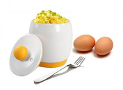 Ceramic Microwave Egg Cooker / Microwave Egg Poacher / Instant Scrambled Egg Cooker / Microwave Egg Cooker