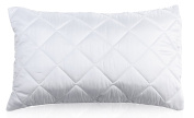 "Non-Allergenic Luxury Quilted Pillow Protector, Size 74cm x 48cm (29"" x 19""), White, Pack of 2"