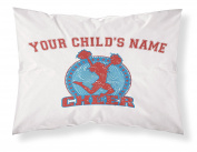 """Customizable, """"Cheerleader"""" Pillowcase. Personalised With Your Child's Name - Perfect Gift For Little Girls Of All Ages!"""