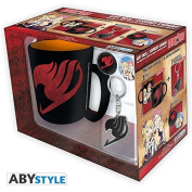 "FAIRY TAIL - Gift Set Mug + Keychains + Badges ""Fairy Tail"""