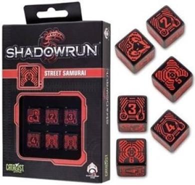 Shadowrun Samurai Dice Set (6) by Shadowrun