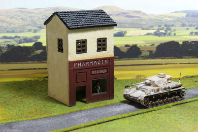 28mm Small Shop Wargaming Model by WWS