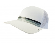 NEW Travis Mathew Loomis White Adjustable Snapback Golf Hat/Cap
