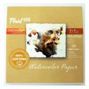 Fluid 100 Watercolour Cp 140kg Ez-Block 8X8