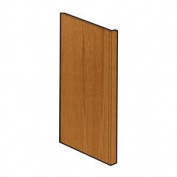 RSI HOME PRODUCTS SALES CBKADEP-MO Medium Oak Finish Dishwasher End Panel, 3.8cm by 90cm by 60cm