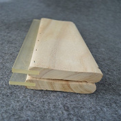 """2pcs Screen Printing 13"""" (33cm) Wooden Ink Squeegee Wider Than Standard"""