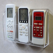 NCElec Wall Mounted Remote Control Holder, 21x4x14cm, Acrylic