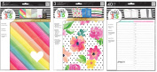 The Big Happy Planner Accessories Set - Decorative Covers, Pocket Folders & Daily Sheets - 3 Item MAMBI Bundle