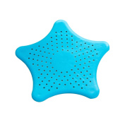 Easy Clean Rubber Kitchen Sink Strainer Bathroom Drain Cover Shower Stall Drain Protector Hair Catcher