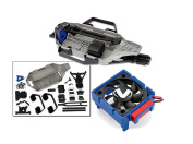 Traxxas Slash 4X4 Chassis Conversion Kit with Traxxas 3340 Cooling Fan Velineon ESC