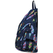 Multi-Colour Feather Print NGIL Sling Backpack