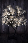 Fibre Optic Display Tree Dual Colour Warm & Cool White LEDBattery Op 19 x 16