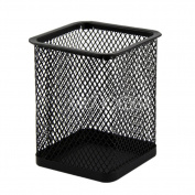 Kocome Rectangular Mesh Style Metal Black Pencil Holder Organiser Desk Pen Containers