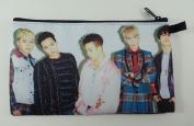BIGBANG Big Bang K-POP BIG Zip Pen Pencil / Cosmetic Makeup Case Bag Pouch Stationery BB-019