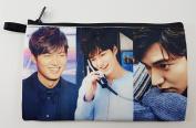 LEE MIN HO Korean Actor BIG Zip Pen Pencil / Cosmetic Makeup Case Bag Pouch Stationery LEE-014