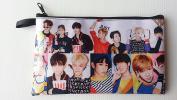 GOT7 GOT SEVEN LOVE TRAIN KPOP Korean Boy Band BIG Zip Pen Pencil / Cosmetic Makeup Case Bag Pouch Stationery GOT--030
