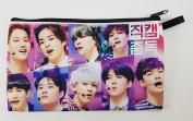 "EXO FROM EXO PLANET ""EXO-K +EXO-M"" KPOP Korean Boy Band BIG Zip Pen Pencil Stationery / Cosmetic Makeup Case Bag Pouch EXO-023"