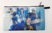 BIGBANG Big Bang K-POP BIG Zip Pen Pencil / Cosmetic Makeup Case Bag Pouch Stationery BB-017