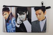 TOP T.O.P In BIGBANG Big Bang KPOP BIG Zip Pen Pencil /Cosmetic Makeup Case Bag Pouch Stationery BB-021