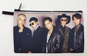 BIGBANG Big Bang K-POP BIG Zip Pen Pencil / Cosmetic Makeup Case Bag Pouch Stationery BB-024