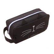 Cat kitty Zipper Pens Pencil Case Organiser bag Winzik funny Silicone Pencil Pouch box