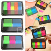 Kocome Fluorescen Sticker Post It Bookmark Marker Memo Index Flags Pad Tab Notes Sticky