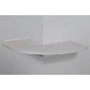 CornerMate White Outer Corner Shelf