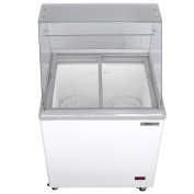 Maxx Cold 4 Flavour 0.2cbm Commercial Ice Cream Dipping Cabinet Freezer