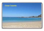 Gran Canaria/fridge magnet.!!
