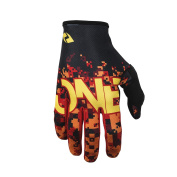 One Industries Zero Camo Gloves 2016 red L