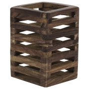 Rusticity Pen / Pencil Holder Wood Mesh Design for Desk, Office, and Home | Handmade |