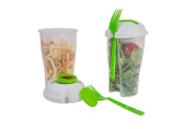 Salad-To-Go Travel Shaker Cups