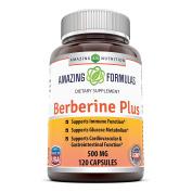 Amazing Nutrition Amazing Formulas Berberine Plus 500mg 120 Capsules