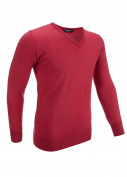 Glenmuir V-Neck Merino Wool Golf Sweater
