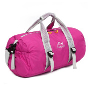 OUTRY Foldable Travel Duffle Bag, Lightweight Gym Bag, 30L( 30.3l
