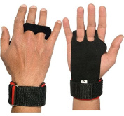 Pull-up Hand Grips with Wrist and Leather Hand Wrap Protection for Cross-training, Gymnastics, Fitness, Exercise, Skills and Drills, WODs, Olympic Weightlifting 100%
