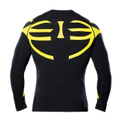 """Mizar Muscle Function Shirt Unisex 3D high-tech Function with Exoskeleton Support (Long Sleeve) - Design Made in Italy """""""