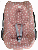 MAXI-COSI COVER LINER Pink Star for PEBBLE and BEBE CONFORT by Janabebe®