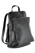 BORDERLINE - 100% Made in Italy - Men's Backpack Genuine leather - DAVID
