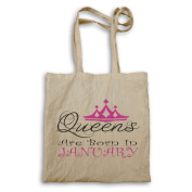 Queens are born in January Novelty Tote bag r16r