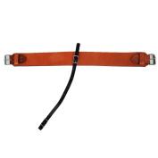 Western 3″ Wide Leather Rear Cinch W/ Strap