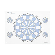 Allen Company 2022 Dartboard Archery Paper Target with Pins