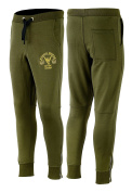 Mens New Slim Fit Muscle Works Gym Tapperd In Track Suit Jogging Bottoms Training Pants Trousers Khaki Green Pants